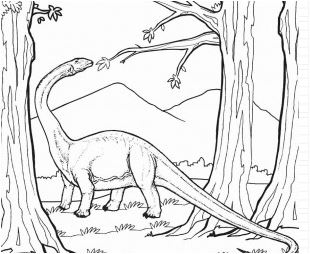 Coloring Pages of Dinosaurs Game