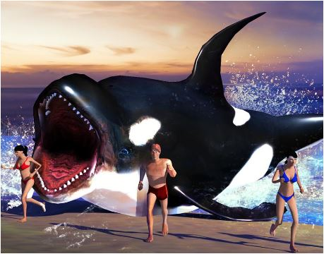 Shark Simulator Beach Killer 3D Game
