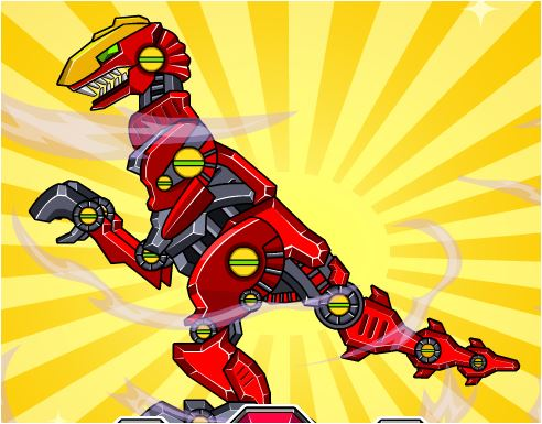 Collect Super Dinosaur Robots Game
