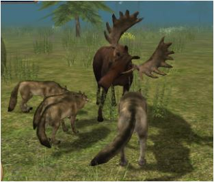 Wolf Simulator: Wild Animals 3D Game