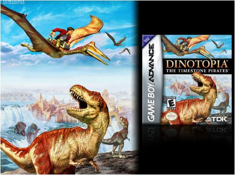 Dinotopia: The Timestone Pirates Game