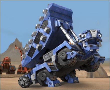 Dinotrux Ton Ton Run Game