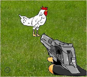 Chickens Shooting Game