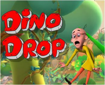 Dino Drop Motu and Patlu Game