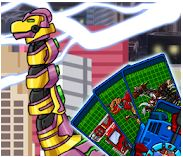 Brachiosaurus Transform! Dino Robot Game