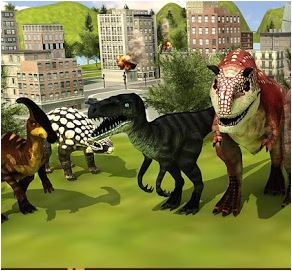 Killer Dinosaurs Attack Game