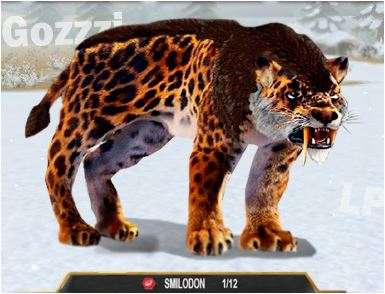 Smilodon and Mammoth Furious Game