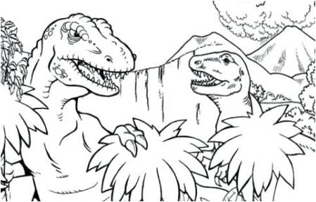 Tyrannosaurus Rex 2 Coloring Page Game