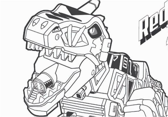 Robot Dinosaur 4 Coloring Page Game