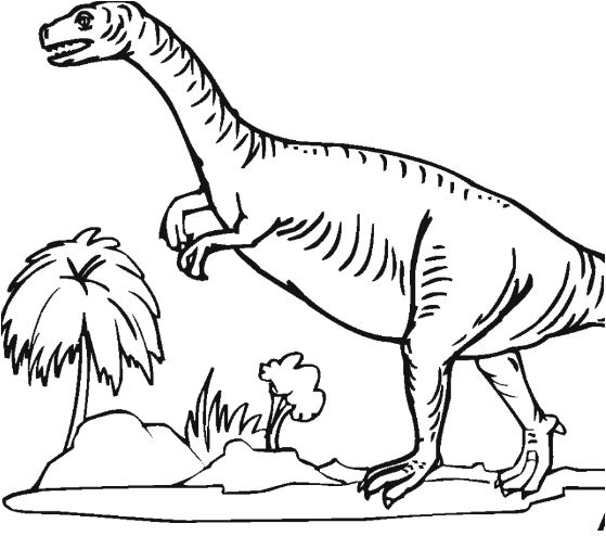 Plateosaurus Coloring Page