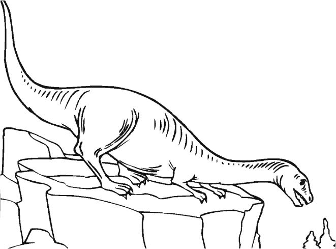 Plateosaurus 2 Coloring Page Game