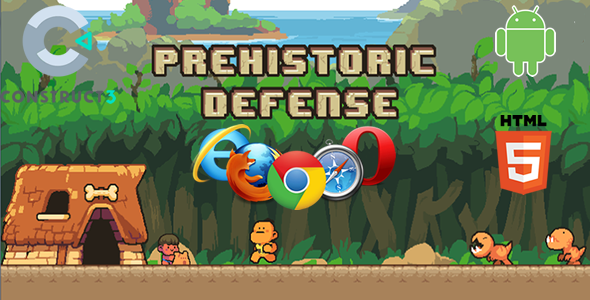 Prehistoric Defense Game