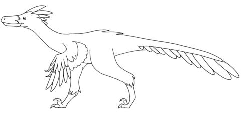 Velociraptor Coloring Page 2 Game