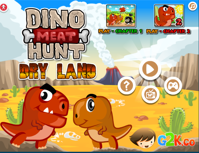 Dinosaur Meat Hunt Dry Land Game