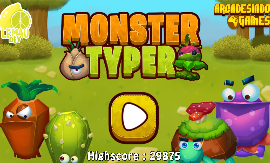 Monster Typer Game
