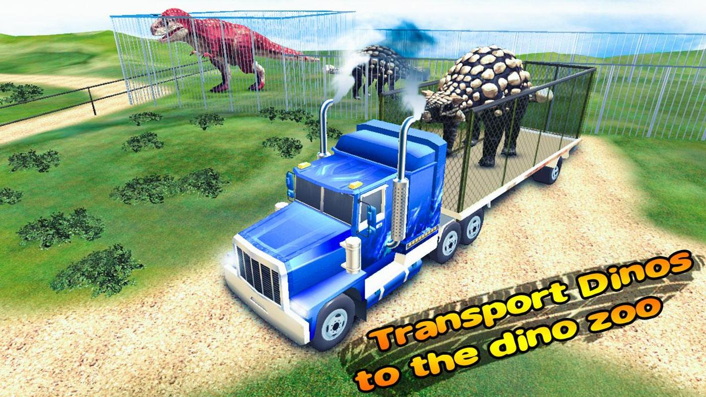 Dino Transport Game