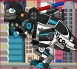 Tarbo Cops Dino Robot Game