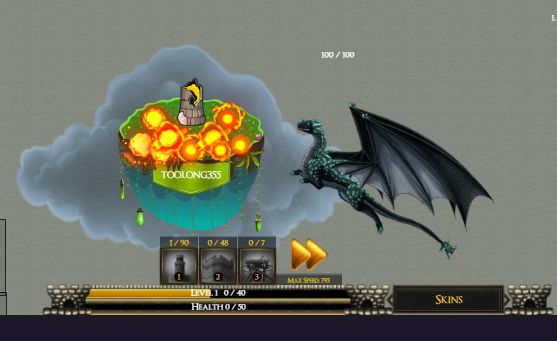 DragonCastleWars.io Game