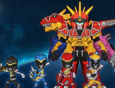 Power Rangers Dino Charge Game