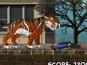 Smilodon Rampage Game