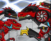 Dino Robot Trex the highway Game
