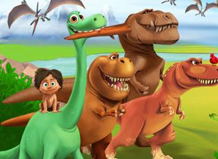 The Good Dinosaur Journey Home Game