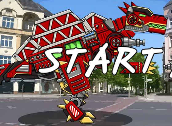 Dino Robot Puzzle Game
