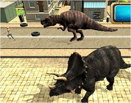 Dinosaur Simulator 2 Dino City Game