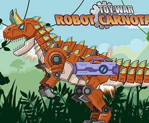 Toy War Robot Carnotaurus Game