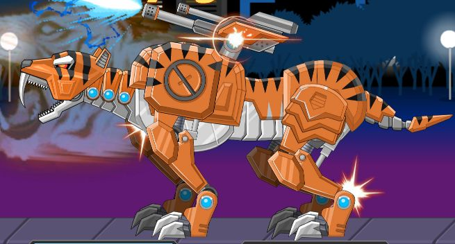 Toy War Robot Rampage Smilodon Game