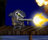 Super Crocodile vs Shark Shooter Game