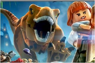 Lego Jurassic World Jigsaw Game