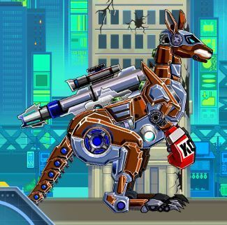 Robot Kangaroo Game