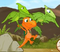 Dinosaur Train Flying With Buddy Game