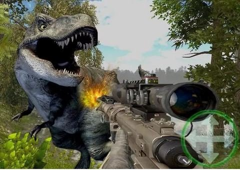 Dinosaur Killer 3d Game