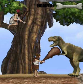 Stone Age Runner Game