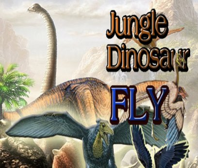 Jungle Dinosaur Fly Adventure Game