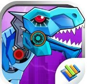 Dinosaur Robot Wars Game
