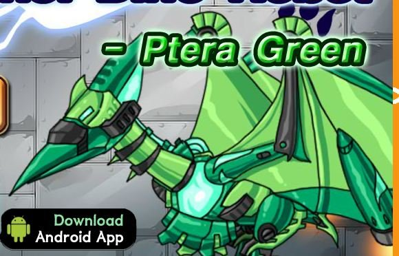 Dino Robot Ptera Green Game