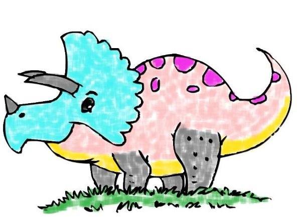 Dinosaur Coloring Book Game
