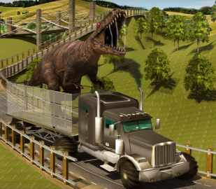 Dino Transport Truck Simulator Game