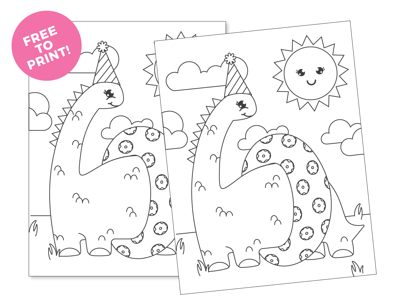 Dinosaur Coloring Creation Game