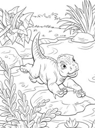 Dinosaur Loved Coloring Game