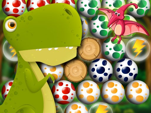 Egg Shooter Bubble Dinosaur Game