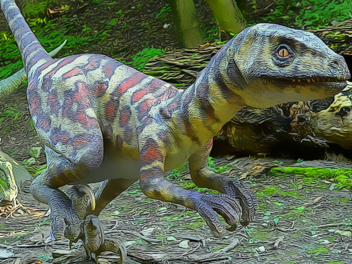 Smallest Dinosaurs Jigsaw New Game