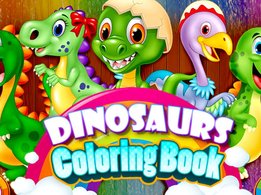 Dinosaurs Coloring Books New Game