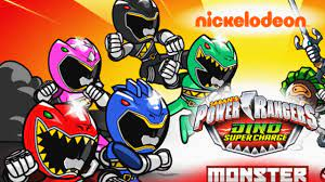 Power Rangers Dino Super Charge: Monster Fighting Frenzy Game