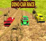 Dino Car Race Game