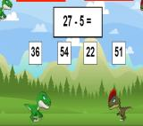 Dino Math Battle Game