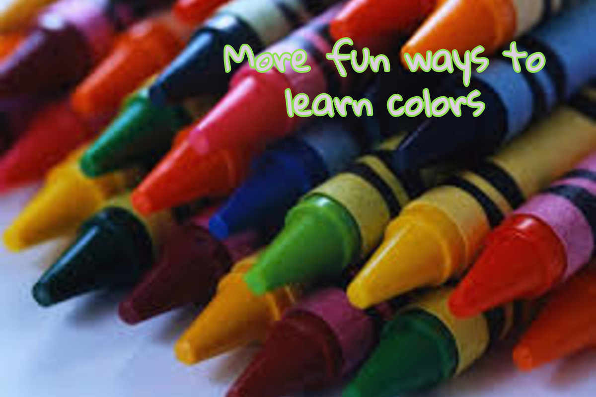 More Fun Ways To Learn Colors